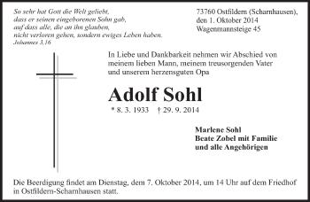 Zur Gedenkseite von Adolf
